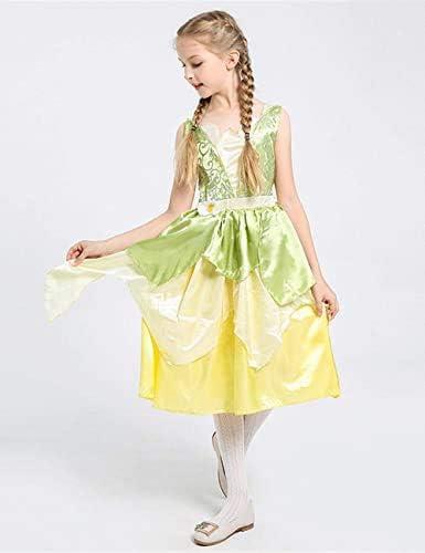 Girls Princess Dress Luxury Kids Fairy Tale Halloween Aladdin Cosplay Costume