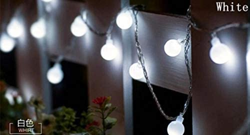 GFSDDS Weihnachtsbeleuchtung Blumen Universal Led Lichterketten Für Weihnachten Hochzeitsbankett Dekoration, Weiß, 220V, 30M