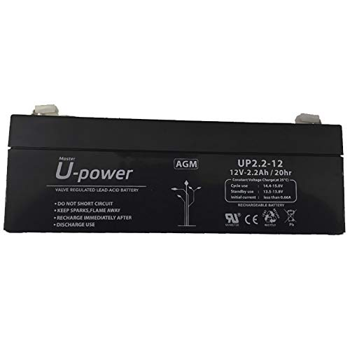 Bater/ía de plomo 12V 2,2Ah 178x60x34mm
