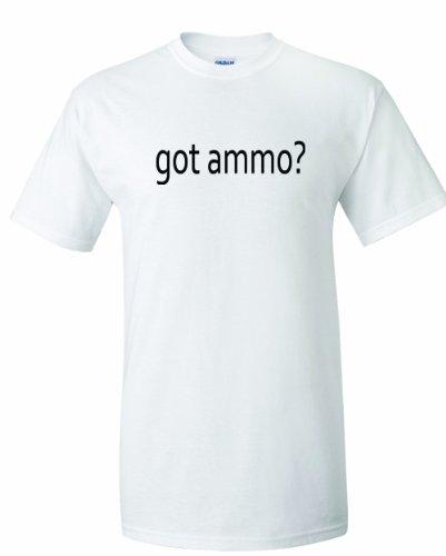 Men's Got ammo? Funny Sports Political Gun control Free speach (Got Gun Control)