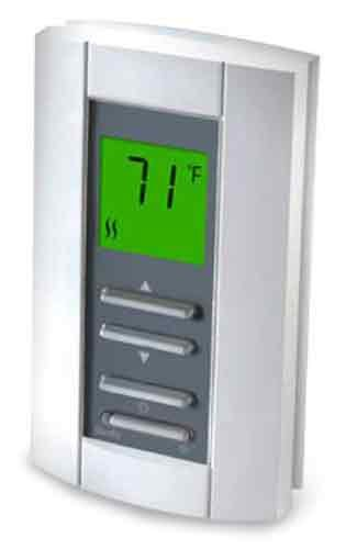 Non Programmable Floor (King TH114-AF-GA Non-Programmable Floor Heating Line Voltage Thermostat with)