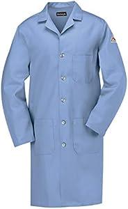 Bulwark Flame Resistant 7 oz Cotton Lapel Collar Lab Coat