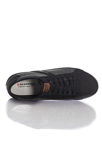 In Nero Sneakers Canvas Sicar Redskins 5xq7Uttz