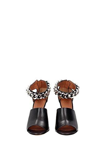 Givenchy, Vrouwen Sandalen Zwart Zwart Zwart