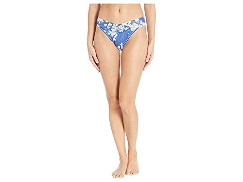 Hanky Panky Women's Bluebell Original Rise Thong, Blue Multi, One Size