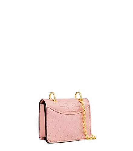 Tory Pink Dark Bag Alexa Quartz Shoulder Burch Mini PwxFrYqP