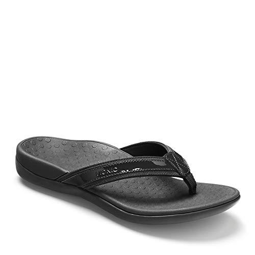 Vionic Women's, Tide II Thong Sandal Black 12 M
