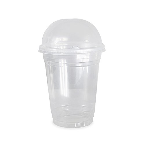disposable-clear-plastic-cups-for-iced-coffee-bubble-boba-tea-smoothie-16-oz-100-sets-with-dome-lids