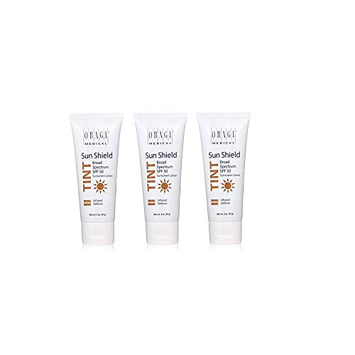 o-bagi (Sun Shield Tint Broad Spectrum SPF 50 Sunscreen 3 oz Each-3 pack ...)