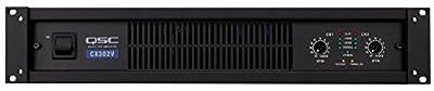 QSC CX302V Stereo 120V Power Amp by QSC