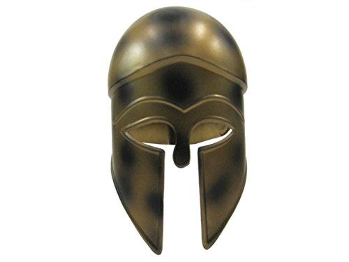 Corinthian Helmet W/ Antiqued Copper Look - Steel - Wearable Costume -