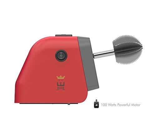Wise Plastic Coconut Scraper, Red