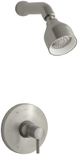 KOHLER K-T8978-4-BN Toobi Shower Trim Less Diverter, Valve Not Included, Vibrant Brushed Nickel