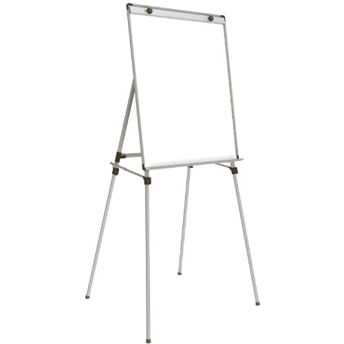 Ghent 4 Leg Easel w/Magnetic Whiteboard (36''x28'') by Ghent