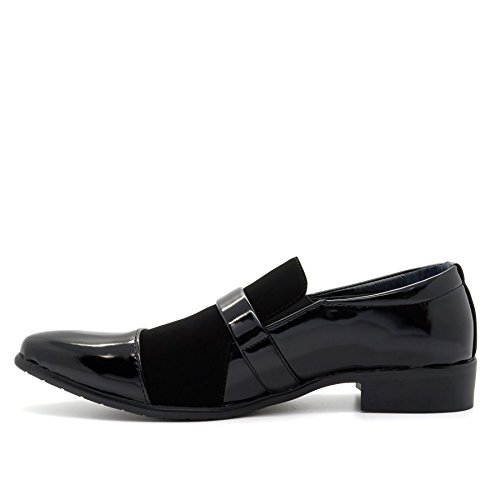 London Cuña Negro Con Sandalias Footwear Hombre rHRYrq