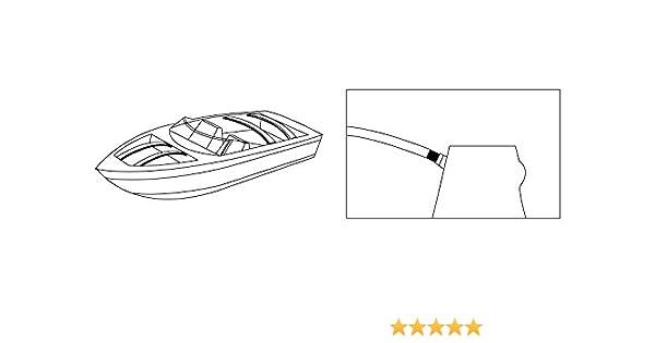 "72/"" Fiberglass Boat Cover Bow"