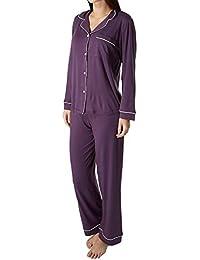 Women's Gisele Two-Piece Long Sleeve & Pant Pajama...