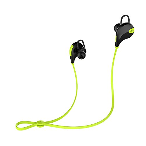 QCY Bluetooth Earphones 4.1 Stereo In-Ear Wear Universal Sport Wireless Headset