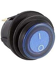 Rocker Switch Car Led Light Switch 3 Pin Rocker Switch Work on 12 Volt Dc Source