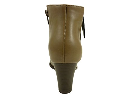 Chaussmaro - Botas Mujer Beige - marrón