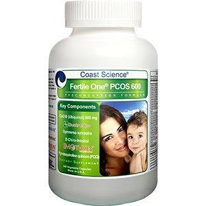 Coast Science Fertile One® PCOS 600 Preconception Formula - 240 capsules (Coast Science Fertile One Pc 600 Preconception Formula)