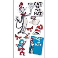 EK Success Dr. Seuss 3D Stickers - The Cat In The Hat