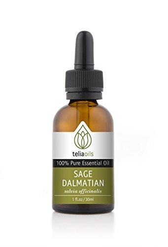 Sage Dalmatian Essential Oil 30 Ml / 1 Oz. 100% Pure, Undiluted, Therapeutic Grade