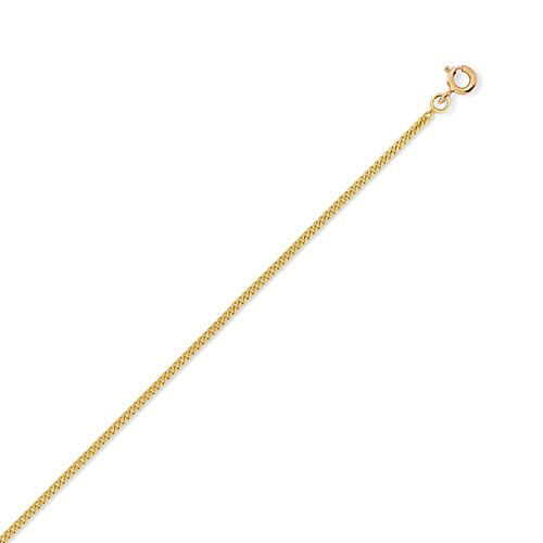 DIAMANTLY Collier or 750 gourmette 1,6 mm - 50 cm