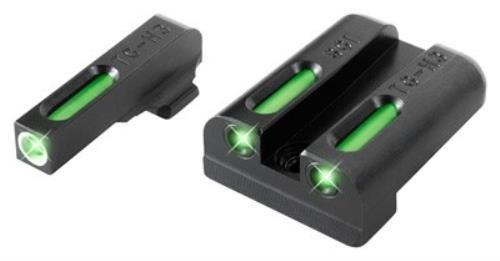 TRUGLO TFX Tritium and Fiber-Optic Xtreme Handgun Sights for Sig Sauer Pistols