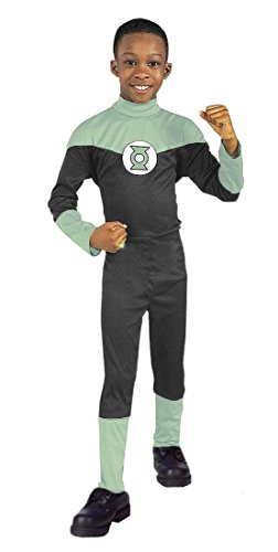 Justice League Green Lantern Hal Jordan Boy's Costume (LARGE) -
