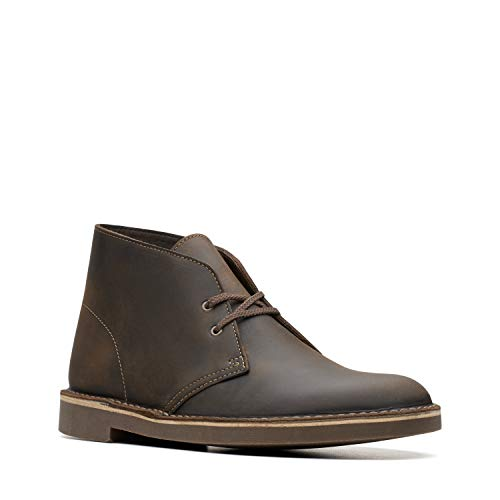 Clarks Men's Bushacre 2, Beeswax,8.5 M US (Clark Kids Shoes)