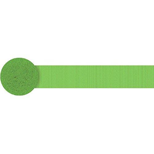 - Party Crepe Streamer | Kiwi Green | 81'| Party Decor
