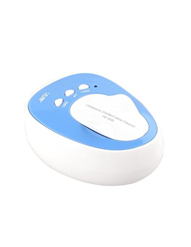 Kowellsonic CE-3200 Mini Ultrasonic Contact Lens Cleaner Kit Daily Care Fast Cleaning New(with Kowellsonic label)--Blue by Kowellsonic