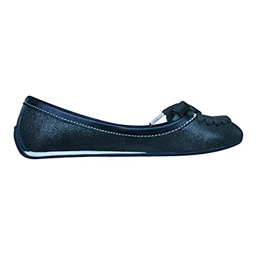 f6c37fdc0ed on sale Puma Rudolf Dassler Feder Womens Leather Ballet Pumps   Shoes