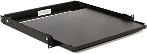 Rackmount Shelf Sliding - Middle Atlantic SSL Sliding Shelf Low Profile, Single Rack Space, 35 lbs Weight Capacity