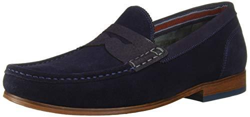 Ted Baker Men's Xapon Loafer Dk Blue 13 Regular US (Ted Baker Blue Shoes)