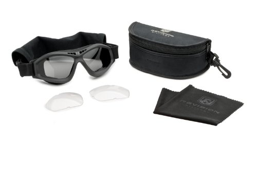 Revision Military Bullet Ant Tactical Goggle Essential - Black by Revision Military