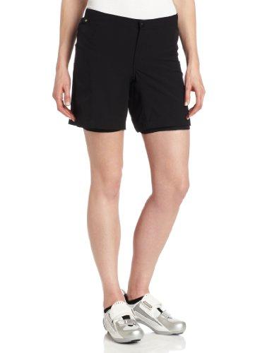Canari Cyclewear Women's Boulder Gel Baggy Shorts, Black, Large