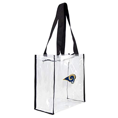 NFL St. Louis Rams Clear Square Stadium Tote (St Rams Louis Stadium)