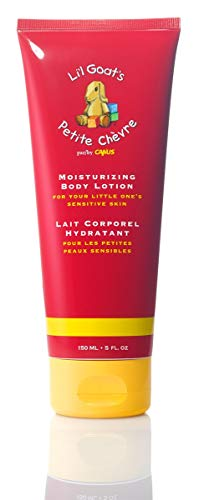 - Li'l Goats by Canus Fresh Goat's Milk Moisturizing Body Lotion, 5 Ounce