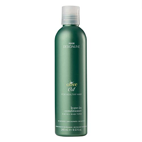 Olive Oil Leave-In Conditioner - Regis DESIGNLINE - Preserves Your Hair's Moisture to Help Restore, Protect, and Rehydrate Hair Without Residue or Build Up (8.12 oz) ()