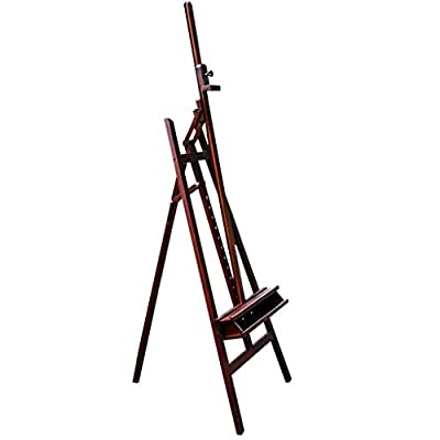 DJSMdjhj Art Floor Large Easel Lifting Folding Adult Children Painting Shelf Oil Painting Watercolor Gouache Sketch Painting Easel Display Advertising Frame Easels Stand