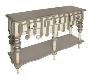 Sterling Home 52-6020 F-Rococo Server Console Table, -