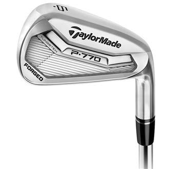 (TaylorMade P770 Forged Iron Set 2017 Right 4-PW KBS Tour FLT Steel Regular)