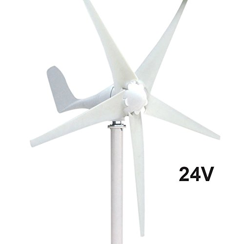 Taishi 400W Power 12V / 24V 5 Blades Horizontal Wind Turbine Generator Kit With Controller (24V)