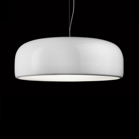 Flos Black And White Pendant Light