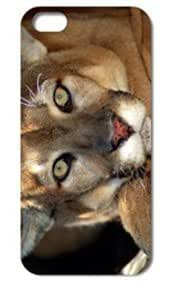 Fashion The Lion Pattern Protective Hard Case Cover For iPhone 5 5S #027