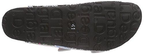 Mujer Noir 2 Bio 2000 Negro Chanclas Shoes Desigual pvI8w8