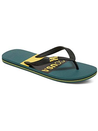DC Shoes Men's Spray Graffik Sandal Green/Yellow a47BC8