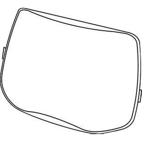 3M Speedglas 9100X 9100XX OUTSIDE LENS 06-0200-51 ~ 10PK